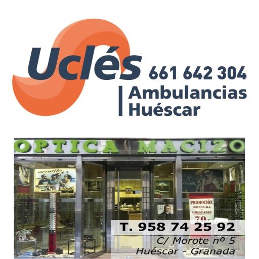 Ambulancias Ucles - Óptica Macizo